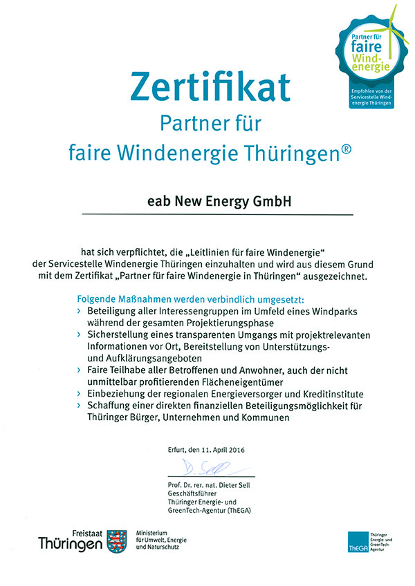 download fairewind zertifikat